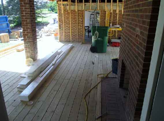 addition remodeling by home improvement contractor near Upper Marlboro