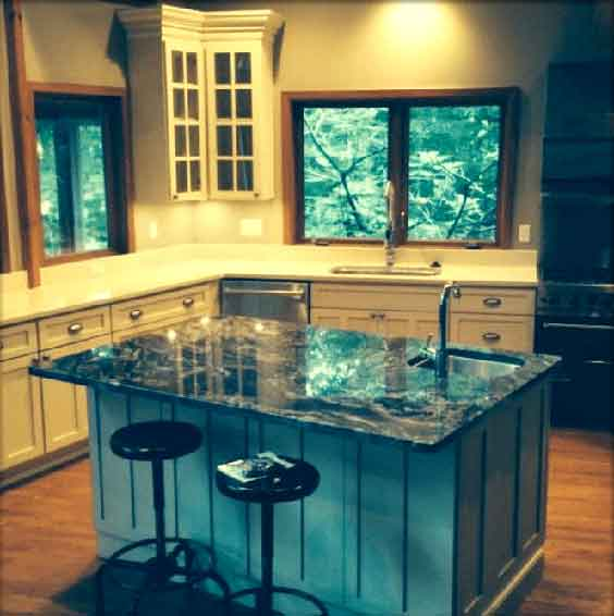 kitchen remodeling by a local remodeling company in Calvert County MD.